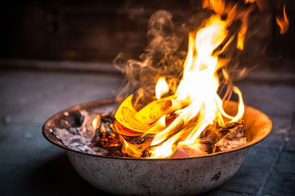 Burning Paper for Ancestors - Astra Ferro, Healing with the Ancestors