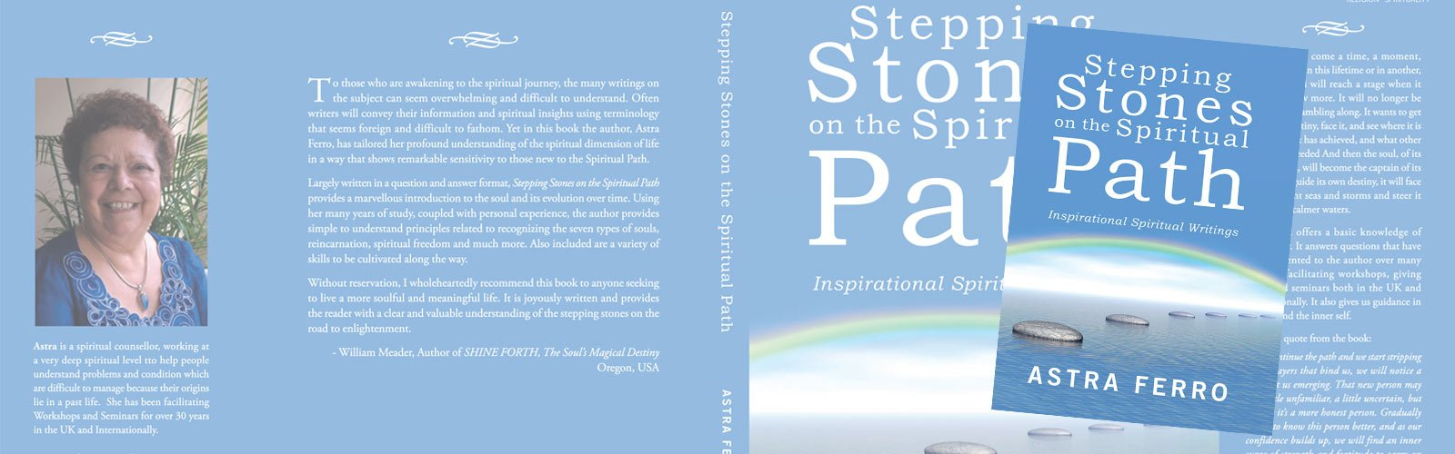 Buy Stepping Stones on the Spiritual Path, new book by Astra Ferro